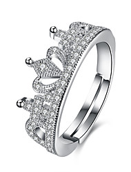 cheap -Women's Ring Crystal AAA Cubic Zirconia Personalized Luxury Geometric Unique Design Tattoo Style Classic Vintage Rhinestone Bohemian