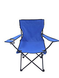 cheap -Camping Folding Chair Beach Chair Collapsible Thick Nylon fiber for Camping / Hiking Fishing