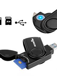 MicroSD / MicroSDHC / MicroSDXC / TF SD / SDHC / SDXC USB 3.0 USB Leitor de cartão