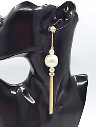 Women's Drop Earrings Imitation Pearl Basic Unique Design Dangling Style Pendant Friendship Rock Multi-ways Wear Cute Style Euramerican