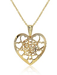 cheap -Women's Geometric Heart Shape Personalized Luxury Geometric Unique Design Tattoo Style Dangling Style Pendant Tassel Classic Vintage