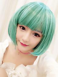 abordables -Pelucas Lolita Amaloli Verde Lolita Peluca de Lolita  30cm CM Pelucas de Cosplay Pelucas Para