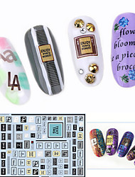 cheap -Large Size Water Transfer Printing Cartoon Nail Sticker