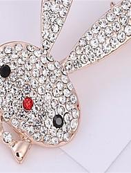 Per donna Spille imitazione diamante Adorabile Lega Gioielli Gioielli Per Party/serata Da giorno Evento Compleanno San Valentino