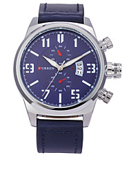 Hombre Reloj Deportivo Reloj de Vestir Reloj Esqueleto Reloj elegante Reloj de Moda Reloj de Pulsera Chino Cuarzo Calendario Resistente a