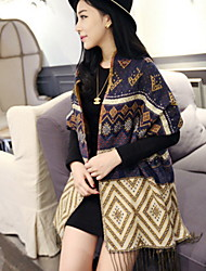 Scarf Wool Blend Tassel Large Thickening Lengthening Women's Korea Scarves Shawl Long Rectangle Winter Lady's Bohemia Valentine Christmas Gift