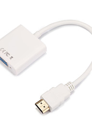 HDMI 1.4 Adattatore, HDMI 1.4 to VGA Adattatore Maschio/femmina