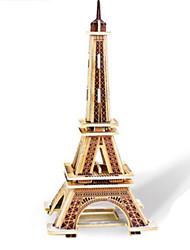 economico -Puzzle 3D Puzzle Giocattoli Torre Edificio famoso Architettura 3D Fai da te Legno Non specificato Pezzi