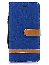preiswerte -Hülle Für Samsung Galaxy S8 Plus S8 Geldbeutel Kreditkartenfächer mit Halterung Flipbare Hülle Handyhülle für das ganze Handy Volltonfarbe