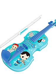 Недорогие -Аксессуары для кукольного домика Игрушечные инструменты Скрипка Игрушки моделирование Скрипка Музыкальные инструменты Пластик Куски Для