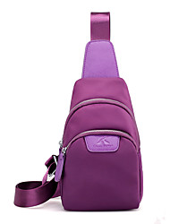 cheap -Women's Bags Nylon Sling Shoulder Bag for Casual Blue / Black / Purple