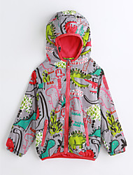 cheap -Boys' Animal Long Sleeve Cotton Trench Coat