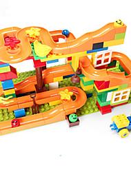 baratos -Pistas para Bolinhas de Gude Pista para Bolinha de Gude Brinquedo Educativo Modelo e Blocos de Construção Brinquedos 3D Plásticos Para