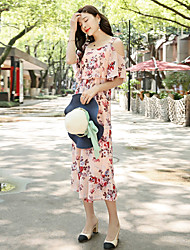 Women's Casual/Daily Jumpsuits,Simple Relaxed Fashion Summer