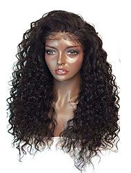 cheap -Water Wave For Black Women 8-26 Inch Glueless Lace Front Indian Human Hair Wigs With Baby Hair Cheap On Sale Comfortable Wearing
