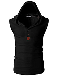 cheap -Men's Active Slim Tank Top - Solid Colored V Neck