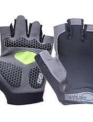 Недорогие -Спортивные перчатки Перчатки для велосипедистов Пригодно для носки / Дышащий / Защитный Без пальцев Ткань Велосипедный спорт / Велоспорт Универсальные