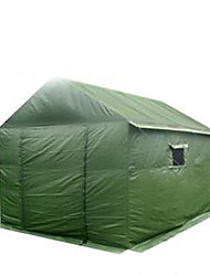 cheap ->8 persons Cabin Tent Camping Tent Automatic Tent Keep Warm Dust Proof for Camping / Hiking 2000-3000 mm Other Material CM