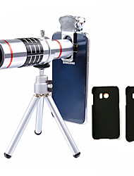 cheap -Lingwei 18X Zoom Samsung Camera Telephoto Lens Wide Angle Lens / Tripod / Phone Holder / Hard Case / Bag / Cleaning Cloth (Samsung S7/S7 EDG)