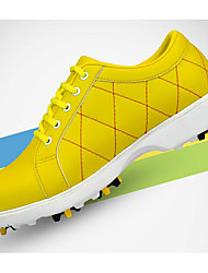 cheap -Golf Shoes Women's Golf Shockproof Comfortable Non-slip Sports Artistic Style Modern Style Stylish Cowsuede Leather Rubber