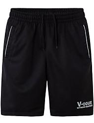 baratos -Homens Shorts de Corrida - Preto, Cinzento, Azul Esportes Simples Shorts Tamanhos Grandes Roupas Esportivas Secagem Rápida, Casual
