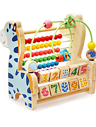 cheap -Building Blocks Toy Abacuses For Gift  Building Blocks Wooden 6-12 months 1-3 years old Toys