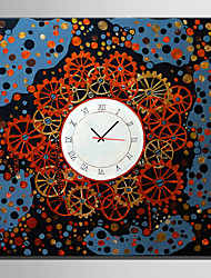 Модерн Прочее Абстракция Настенные часы,Квадратный В помещении Часы