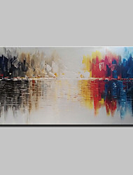 cheap -Large Size Hand Painted Canvas Oil Paintings Modern Abstract Wall Art For Home Decoration No Frame