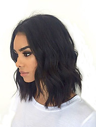 8''-12'' Short Bob Full Lace Human Hair Lace Wigs with Baby Hair Brazilian 130% Deensity Glueless Short Full Lace Wigs Natural Hairlne 100% Human Hair