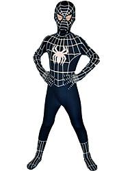 economico -Costumi da supereroi Ragni Costumi zentai Tutina aderente Cosplay da film Nero Costumi Zentai Halloween Licra