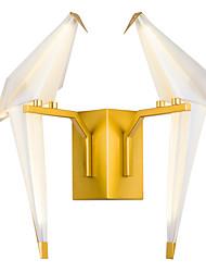 preiswerte -AC220 16 integrierte LED Tiffany Einfach Traditionell-Klassisch Landhaus Stil Golden Eigenschaft for LED Ministil Birne inklusive,