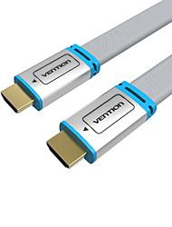 VENTION HDMI 2.0 Kabel, HDMI 2.0 to HDMI 2.0 Kabel Samec-samec 1080P Pozlacená měď 5,0 m (16Ft)