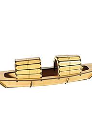 baratos -Quebra-Cabeças 3D Quebra-Cabeça Barco de Guerra Faça Você Mesmo Madeira Natural Crianças Unisexo Dom