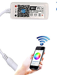 cheap -Updated Wifi Wireless LED Controller for RGB LED Strip LightsWork with Android/IOS Mobile Phone16 Million Colors 20 Dynamic Modes Support Sound