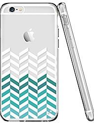billige -Etui til iPhone 7 6 linjer tpu blødt ultra-tyndt bagside cover cover iphone 7 plus 6 6s plus se 5s 5 5c 4s 4