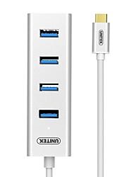 Недорогие -Unitek 4 порта USB-концентратор USB 3.0 OTG Центр данных