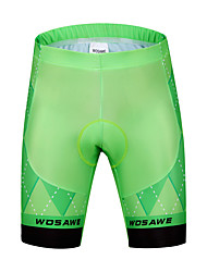 cheap -WOSAWE Cycling Padded Shorts Men's Bike Padded Shorts/Chamois Bottoms Bike Wear Cycling Classic Road Cycling Cycling / Bike Mountain