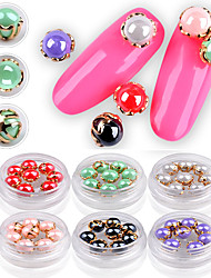 cheap -8PCS Nail  Art Catch Joe The Lacquer That Bake Shell Pearl Delicate Metal Act The Role Ofing Is Tasted