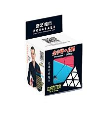 baratos -Rubik's Cube QI YI Warrior Pyramid Cubo Macio de Velocidade Cubos mágicos Cubo Mágico Dom Unisexo