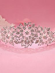 preiswerte -Strass-Legierung Tiaras Stirnbänder Kopfschmuck klassischen weiblichen Stil
