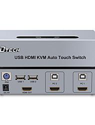 preiswerte -HDMI 1.4 Verteiler, HDMI 1.4 to HDMI 1.4 USB 2.0 Verteiler Buchse - Buchse