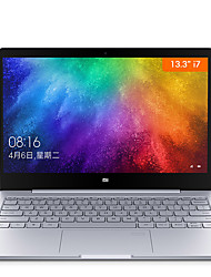 baratos -xiaomi laptop notebook ar sensor de impressão digital de 13,3 polegadas intel i7-7500u 8gb ddr4 256gb pcie ssd windows10 mx150 2gb