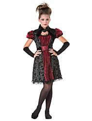 economico -Costumi da vampiro Cosplay Costumi Cosplay Stile Carnevale di Venezia Da ragazza Halloween Carnevale Feste / vacanze Costumi Halloween Completi Altro Vintage