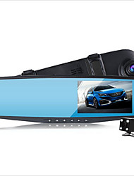 cheap -Dual Lens Car Camera Rearview Mirror Full Hd 1080p Night Vision Auto Dvrs Cars Dvr arking Video Recorder Registrator Dash Cam