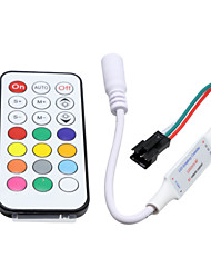 HKV® 1PcsMini 21 Keys LED Controller IR Wireless Remote Controller For LED Strip Lights DC 5-24V