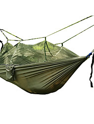 cheap -1 Camping Hammock with Mosquito Net Ultra Light (UL) Breathable Collapsible Nylon for Camping Camping / Hiking / Caving Outdoor