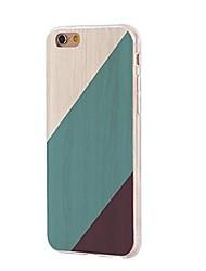 Недорогие -Чехол для iphone 7 6 деревянная текстура tpu мягкая ультратонкая задняя крышка чехол iphone 7 плюс 6 6s плюс se 5s 5 5c 4s 4