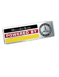 Emblema automobilistico per mercedes amg e c s r ml gla glc gls metallo pasta