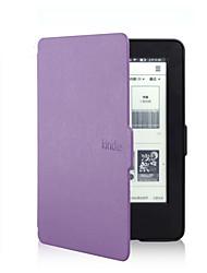 economico -orso timido stile sottile di caso della copertura del cuoio ™ 6 pollici per amazon nuovo accende 2014 (kindle 7) ebook