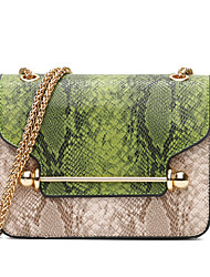 cheap -Women Bags PU Crossbody Bag for Event/Party Casual Formal Outdoor Office & Career All Seasons Blue Green Red